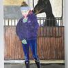 Playful, Acrylic on Canvas, 30 x 21.5 cm