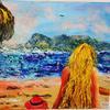 Girl on the Beach - Mary Ann Day