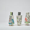 Porcelain People Vessels, On the Beach, Girls and Ducks x2, 15cm high x 8cm wide