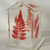 Glasshouse candle holder