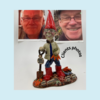 New  Commission 2021 for Special Fathers 60th Birthday . Daughter requested  her Father as a Garden Gnome