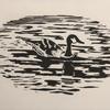 Goose, Linocut Print (16x10cm)
