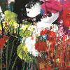 """Wild Flowers 2 (Acrylic Mixed Media on Board Approx size 7"""" x 12"""")"""