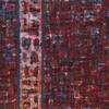 Gridlock II - Textile Art inspired by exploring grids  - Marian Hall