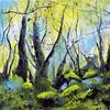 Grindelford, Acrylic on canvas, 30 x 30 cm