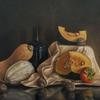 """Halloween vibes""-Original oil painting by Sabbi Gavrailov | Fine Art | 2021"