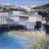 Harbour Beach - Mixed Media