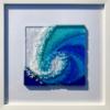 Fused Glass Crashing Waves - Wall Art