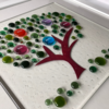 Fused Glass Family Tree - Wall Art