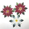 Fused Glass Poinsettia