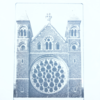 Fused Glass Photography Print - St Albans Cathedral