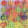 Hidden Circles - Rainbow - Painted canvas with hidden circles