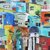 Hillside Town, Equador 1, Acrylic on canvas