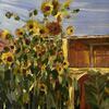 sunflowers Corfu 2020