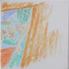 Dorothy enters Technicolour - watercolour on canvas.