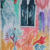 Suspiria - watercolour on canvas.