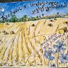 Harvest time - nature sketchbook journalling