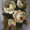 Golden Glories   Acrylic :   Price  £50  :  30x35cm  Framed