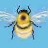 Bee - Digital iPad Art
