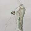 Figure Study #2 : Watercolour Pencil and Wash 30x40cm Unframed £75.