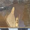 Power station. Reflection after rain. Image from my video