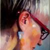 Myself oil on canvas