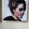 Maisie oil on canvas