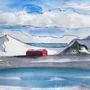 Half moon bay, Antarctica