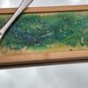 Glass cheeseboard