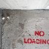 """NO LOADING!"". Photograph. Image from my video"