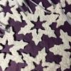 Porcelain snowflake decorations