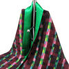 earth blend silk scarf, digitally printed, hand made and lined with emerald green silk, hand wash only, 1 of only 3 made, £75