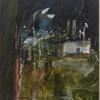 Nocturne series. Sunset. Watercolour, chalks.