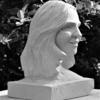 Portrait of my wife;  Portland stone