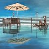 'Riviera' Acrylic on Canvas Board