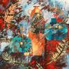 """OLD CERAMIC JAR & JUGS""  acrylic on canvas"