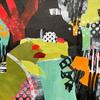 Susie's Garden - Mixed Media Collage