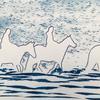'Sea Horses Hunstanton'  (Sun print)