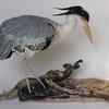 Heron - needle felt