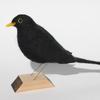 Blackbird - needle felt