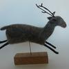 Reindeer - needle felt