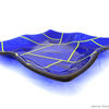 Royal Blue Platter by Jenny Hoole JHSglass