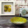 JHSglass - Jenny Hoole - Crackle Pieces in Yellow and Vanilla