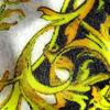 jhsglass - Jenny Hoole - Paisley Dish 20 x 20cm