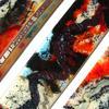 JHSglass - Jenny Hoole - Wall Panels 24 x 6cm