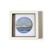 jhsglass - Jenny Hoole - Seascape framed picture 15 x 15cm