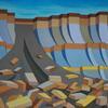 Mudslide on the Dorset Coast