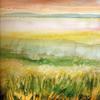 Estuary watercolour