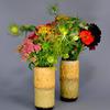 windowsill vases with lava glaze