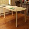 'Flow' dining / work table, birch plywood